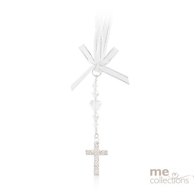 Diamante Cross with Jewels