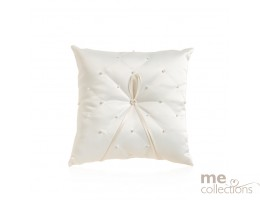 Ring Cushion with Pearl design in IVORY- Model 530V