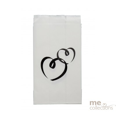 BRAND NEW DESIGN Cake bags -  Two Hearts