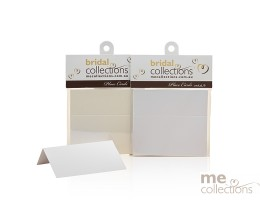 Place cards - Plain White