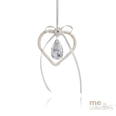 Heart with Large Drop Crystal Bead (NEW)