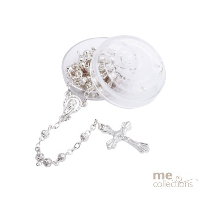 Delicate Silver Rosary Beads (NEW)