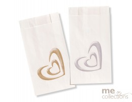 Cake bags BULK - Shadow Heart GOLD CB42