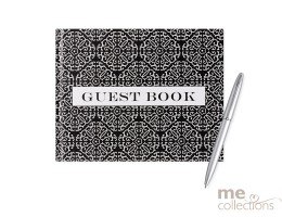'All Occasion' Hang Sell Guest Book - Black/White