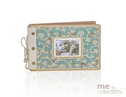 Vintage Collection Baby Guest Book/ Photo Album