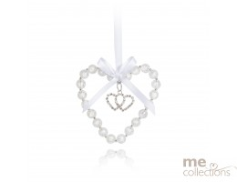 Crystal Heart with Diamante