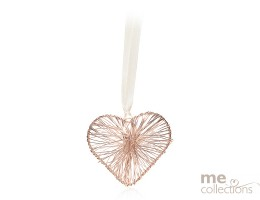 Rose Gold Wire Heart - Model 634