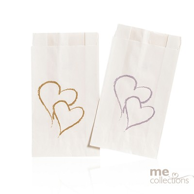 Cake Bags Twin Hearts Gold - TEMPORARILY OUT OF STOCK