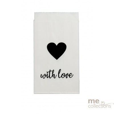 BRAND NEW DESIGN Cake Bags - With Love