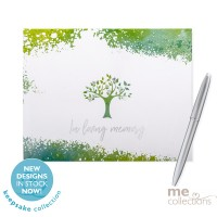 'In Loving Memory' Hang Sell Guest Book