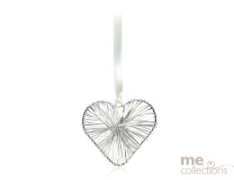 Silver Wire Heart - Model 634