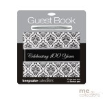Celebrating 100 Years Damask Guest Book